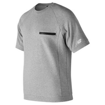 New Balance 247 Sport Heavyweight Pocket Tee, Athletic Grey