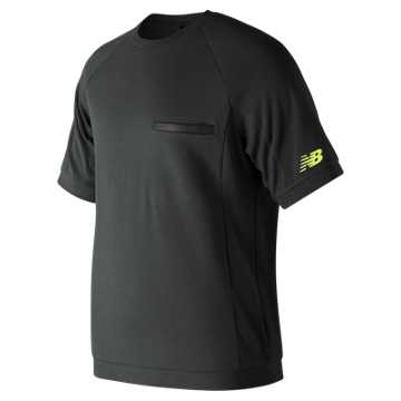 New Balance 247 Sport Heavyweight Pocket Tee, Black