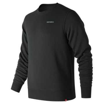 New Balance Essentials Mini Logo Crew, Black