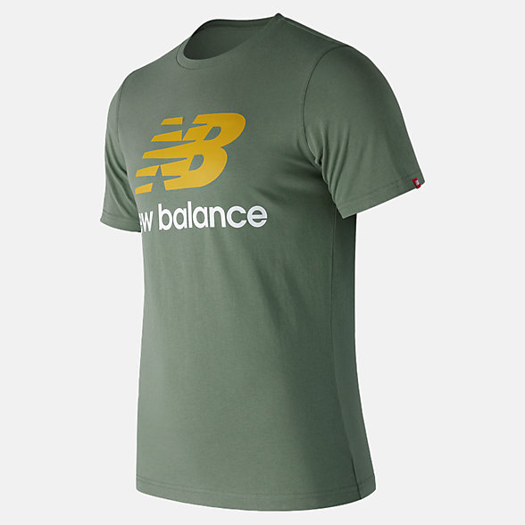 New Balance T-shirt avec logo Essentiel superposé, MT83530VTC