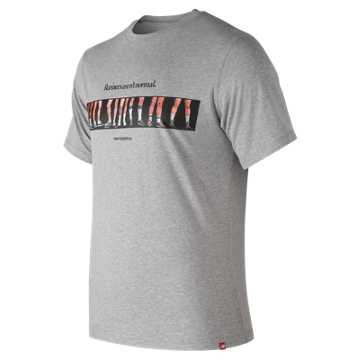 New Balance Essentials Normal Tee, Athletic Grey