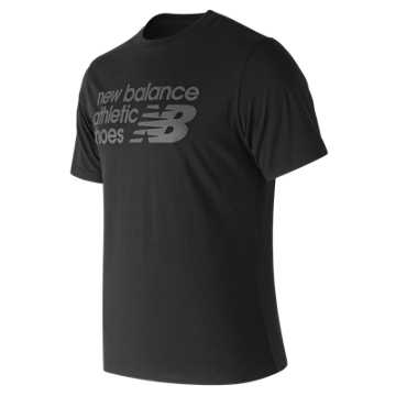 New Balance Essentials Normal Tee, Black