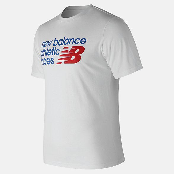 New Balance T-shirt régulier Essentials, MT83541WT