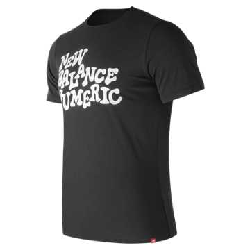 New Balance NB Numeric High Stakes Tee, Black