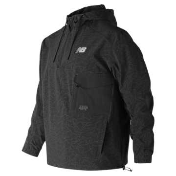 New Balance 247 Sport Anorak, Black