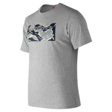 New Balance NB Athletics Camp Tee, Athletic Grey