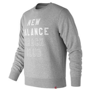 New Balance Essentials NB Track Club Crew, Athletic Grey