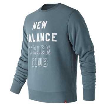 New Balance Essentials NB Track Club Crew, Light Petrol