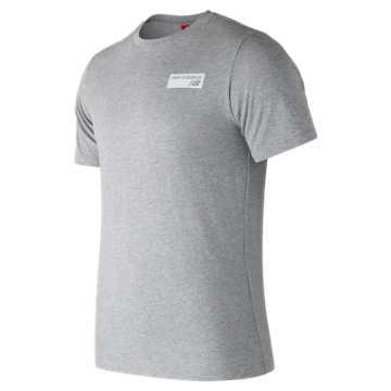 New Balance NB Athletics Tee, Athletic Grey