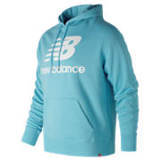 NB Essentials Stacked Pullover Hoodie, Clematis Blue