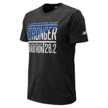 New Balance NYC Marathon Tee, Black