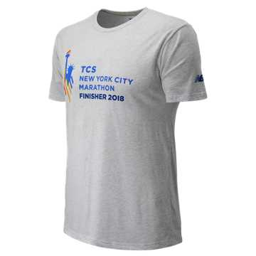 New Balance NYC Marathon Logo Finisher, White