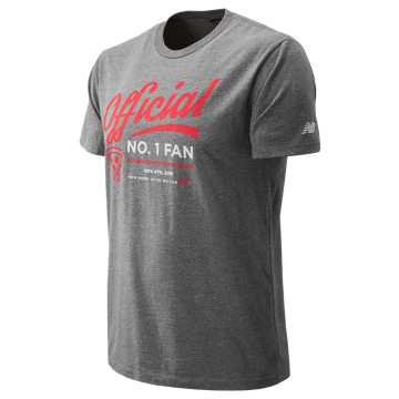 New Balance NYC Marathon Spectator Short Sleeve, Grey