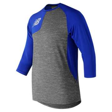 New Balance Asym 2.0 Right 3/4 Sleeve, Team Royal