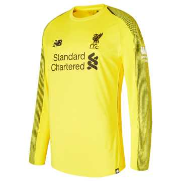 New Balance LFC Home GK Long Sleeve Jersey, Viper Yellow