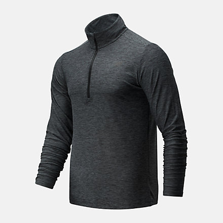 New Balance Core Space Dye Quarter Zip, MT83915BGR image number null