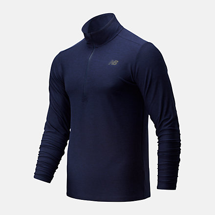 New Balance Core Space Dye Quarter Zip, MT83915PGM image number null