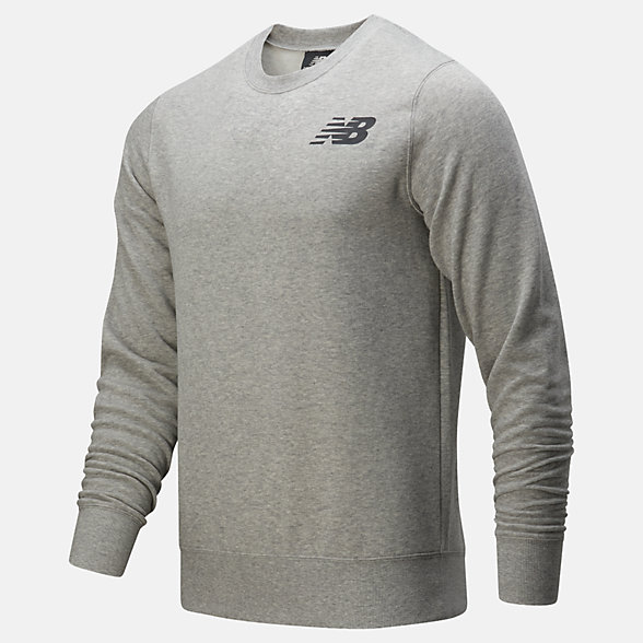 New Balance Core Fleece Crew, MT83981AG