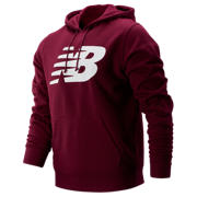 New Balance Core Fleece Hoodie, Sedona Red