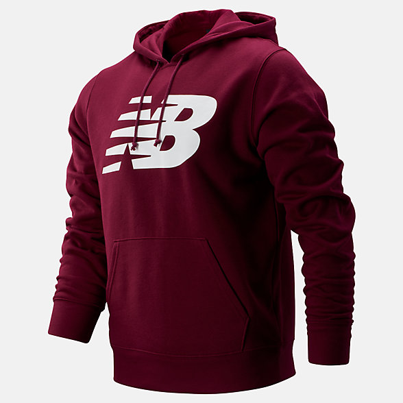 New Balance Core Fleece Hoodie, MT83982SDR