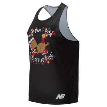 New Balance Huffin For Stuffin Singlet, Black