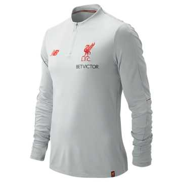New Balance Liverpool FC Elite Training Mid-Layer Top, Light Cyclone