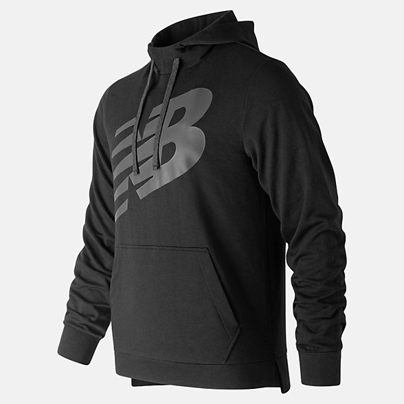 New Balance NB Warm Up Hoodie, MT91018BK