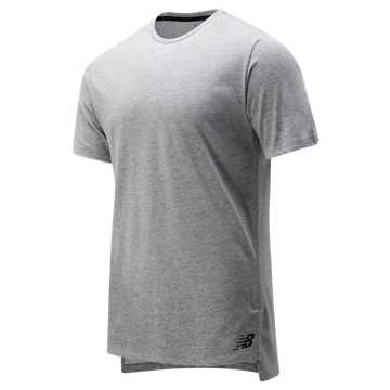 New Balance R.W.T. Heathertech Tee, Athletic Grey