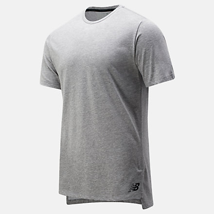 New Balance R.W.T. Heathertech Tee, MT91053AG image number null