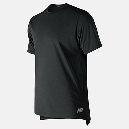 New Balance R.W.T. Heathertech Tee, MT91053BK image number null