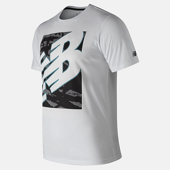 New Balance NB Heathertech Tee, MT91082WT