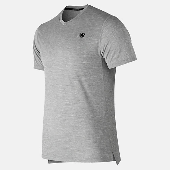New Balance Tenacity V Neck, MT91091AG