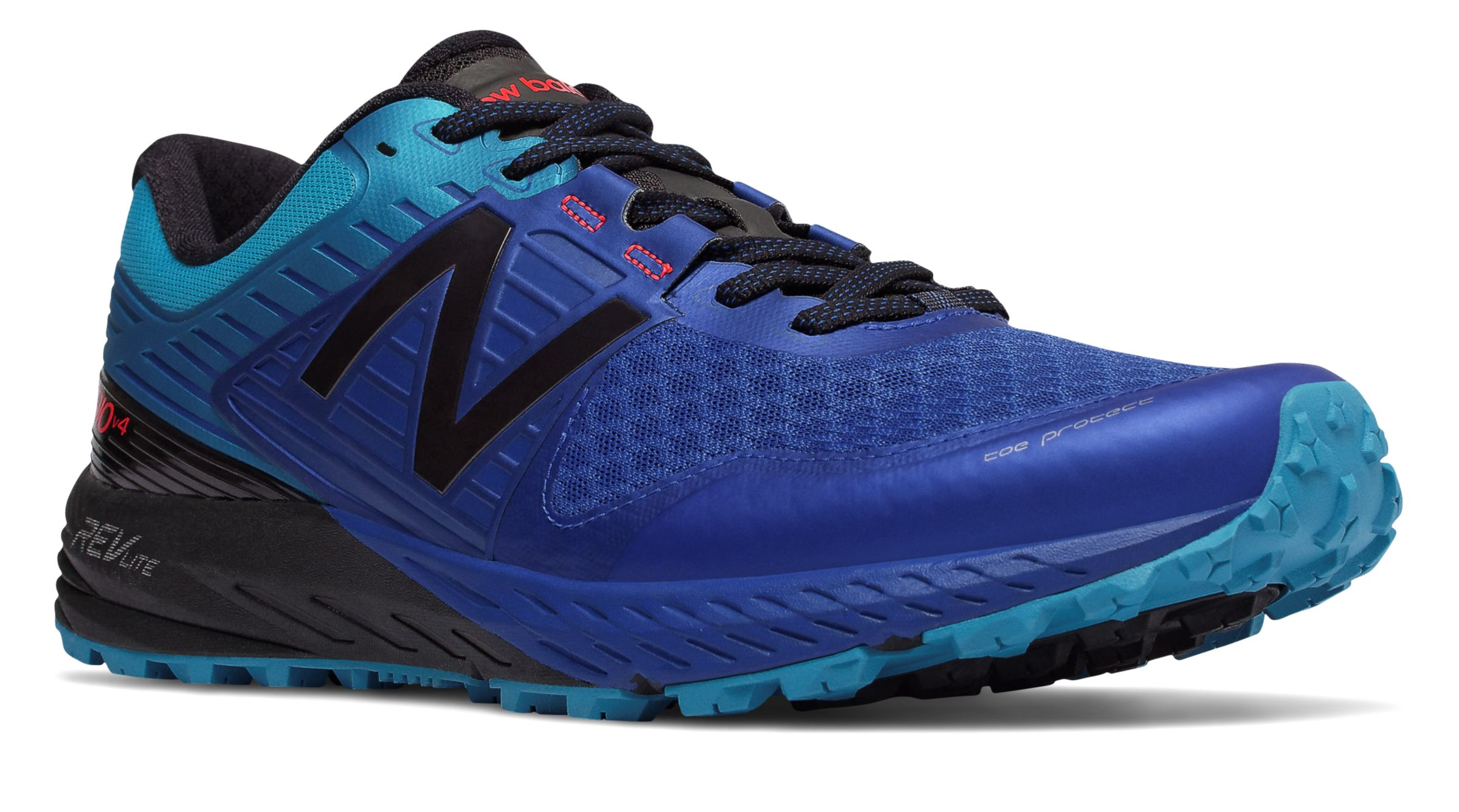 NB 910v4 Trail, Pacific with Maldives Blue & Black