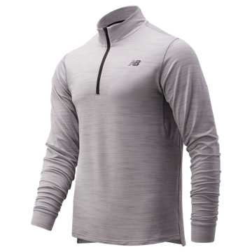 New Balance Anticipate 2.0 Quarter Zip, Athletic Grey