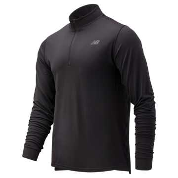 New Balance Anticipate 2.0 Quarter Zip, Black