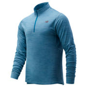 New Balance Anticipate 2.0 Quarter Zip, Bluefog