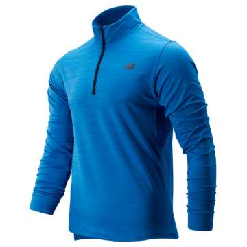 New Balance Anticipate 2.0 Quarter Zip, Lapis Blue