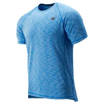 New Balance Anticipate 2.0 Tee, Lapis Blue