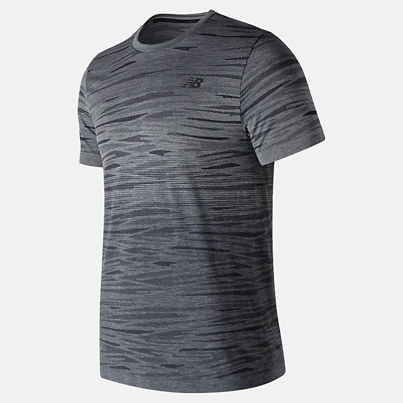 New Balance Cool Current Jacquard Short Sleeve, MT91141HC