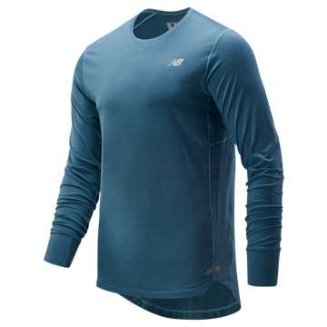 New Balance Seasonless Long Sleeve, Bluefog