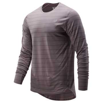 New Balance Seasonless Long Sleeve, Cashmere