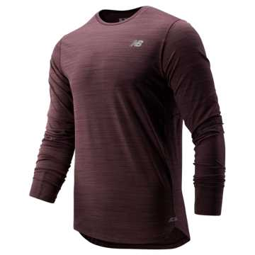New Balance Seasonless Long Sleeve, Henna