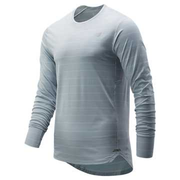 New Balance Seasonless Long Sleeve, Platinum Sky