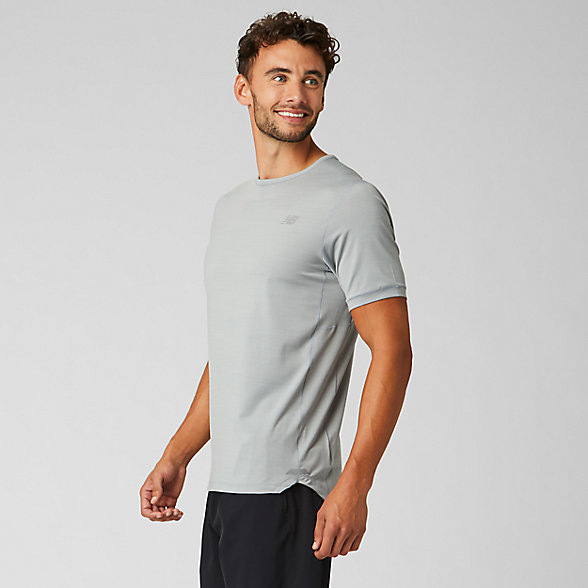 New Balance Seasonless Short Sleeve, MT91231AG