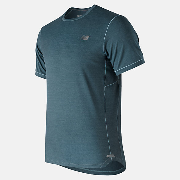 New Balance Seasonless Short Sleeve, MT91231BLF