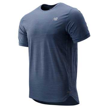 New Balance Seasonless Short Sleeve, Chambray with Pigment