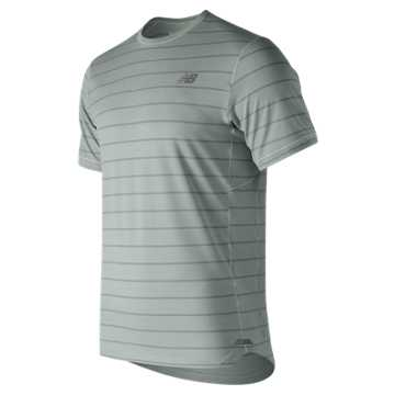 New Balance Seasonless Short Sleeve, White Agave