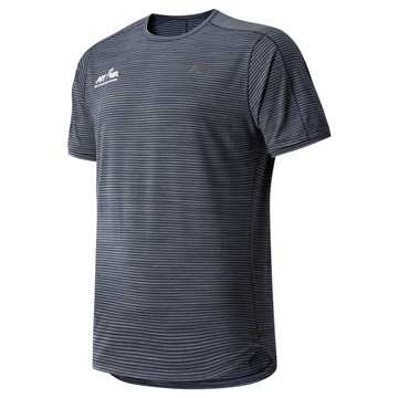 New Balance Run 4 Life Q Speed Shadow Short Sleeve, Eclipse
