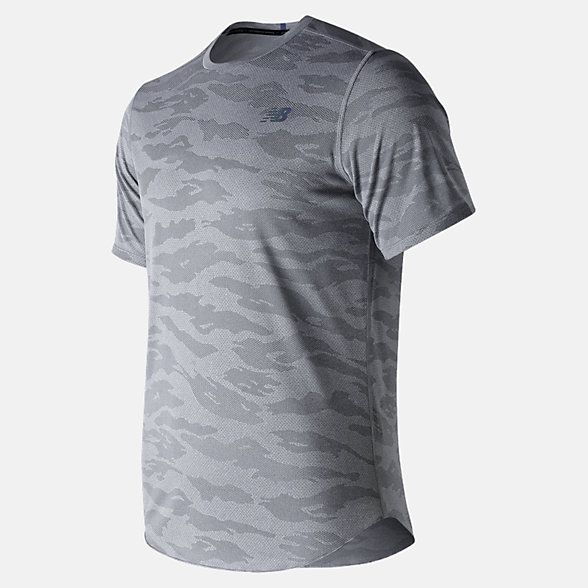 New Balance Q Speed Breathe Short Sleeve, MT91250AG