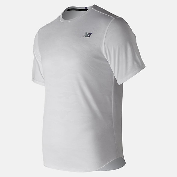 NB Q Speed Breathe Short Sleeve, MT91250WT